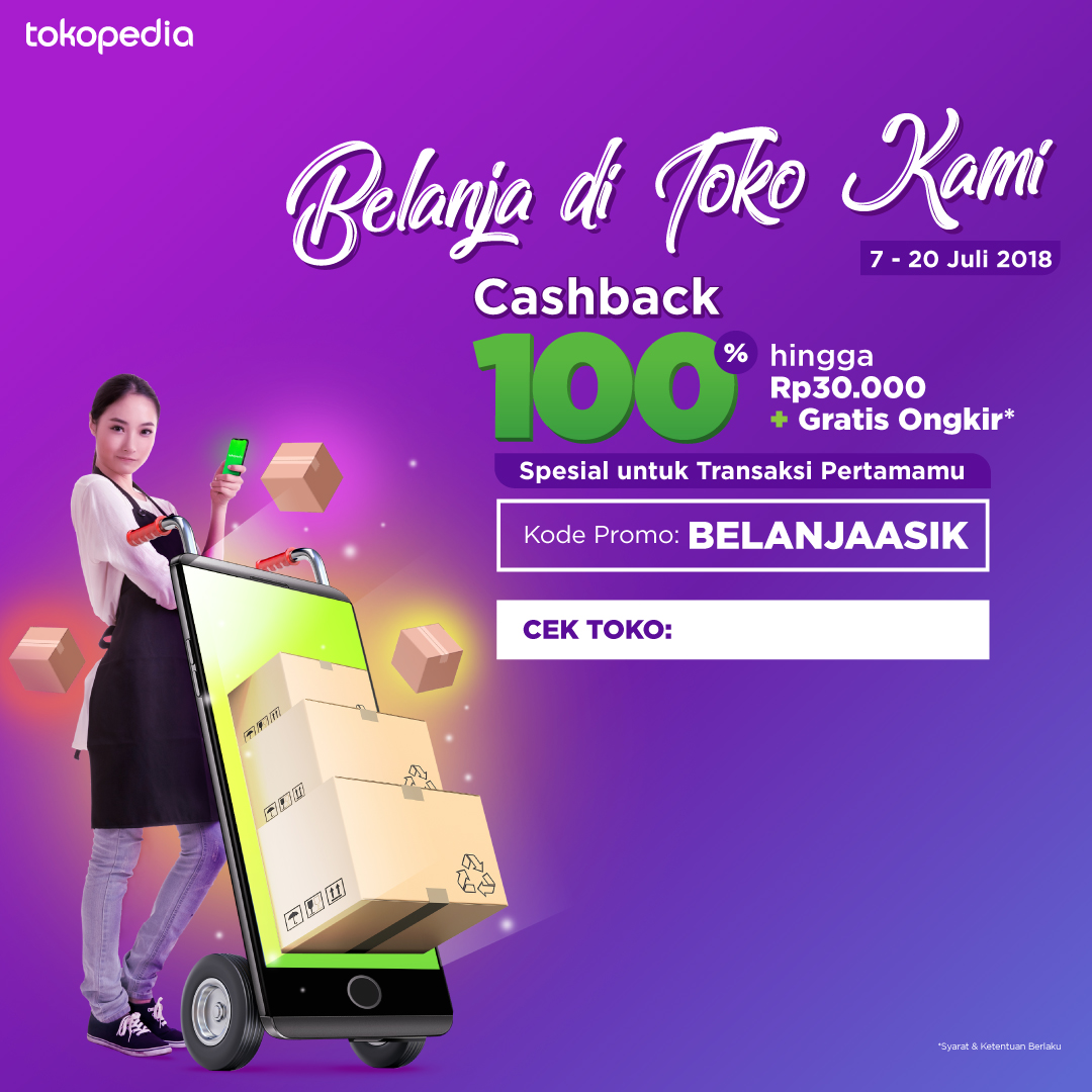 Strategi Promosi Gratis Dan Mudah Seller Center Tokopedia