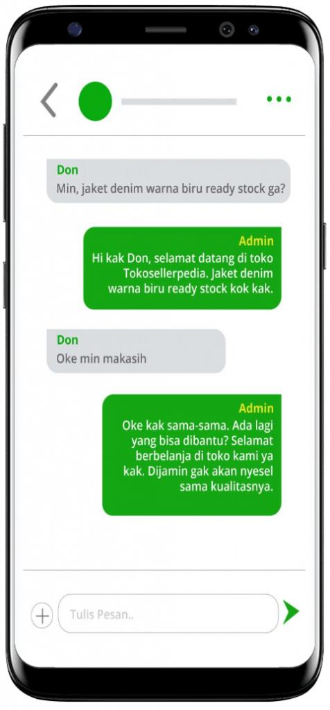 4 tips balas chat pembeli tokopedia