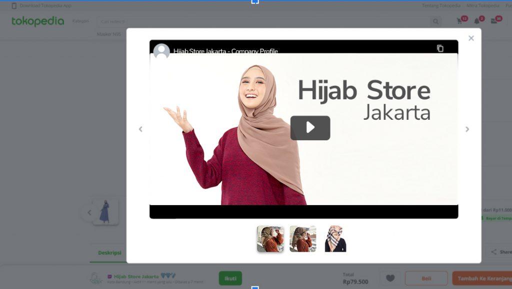 contoh video produk