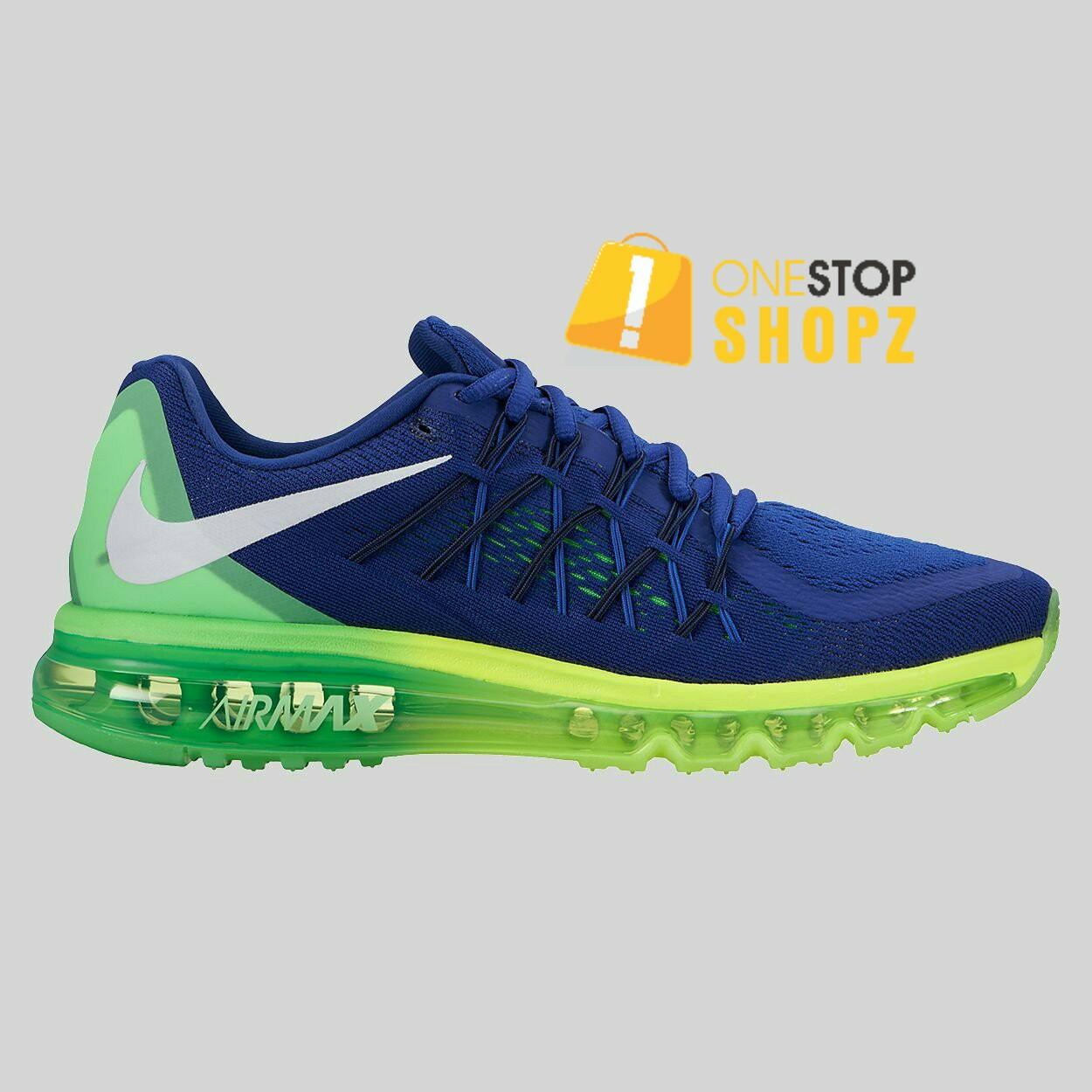 Men's Nike Air Max 90 Essential Sneakers In BlackCrimson Size 8 ( 537384 036 )