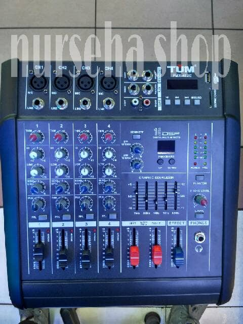 Harga Power Mixer 4 Channel Katalog.or.id