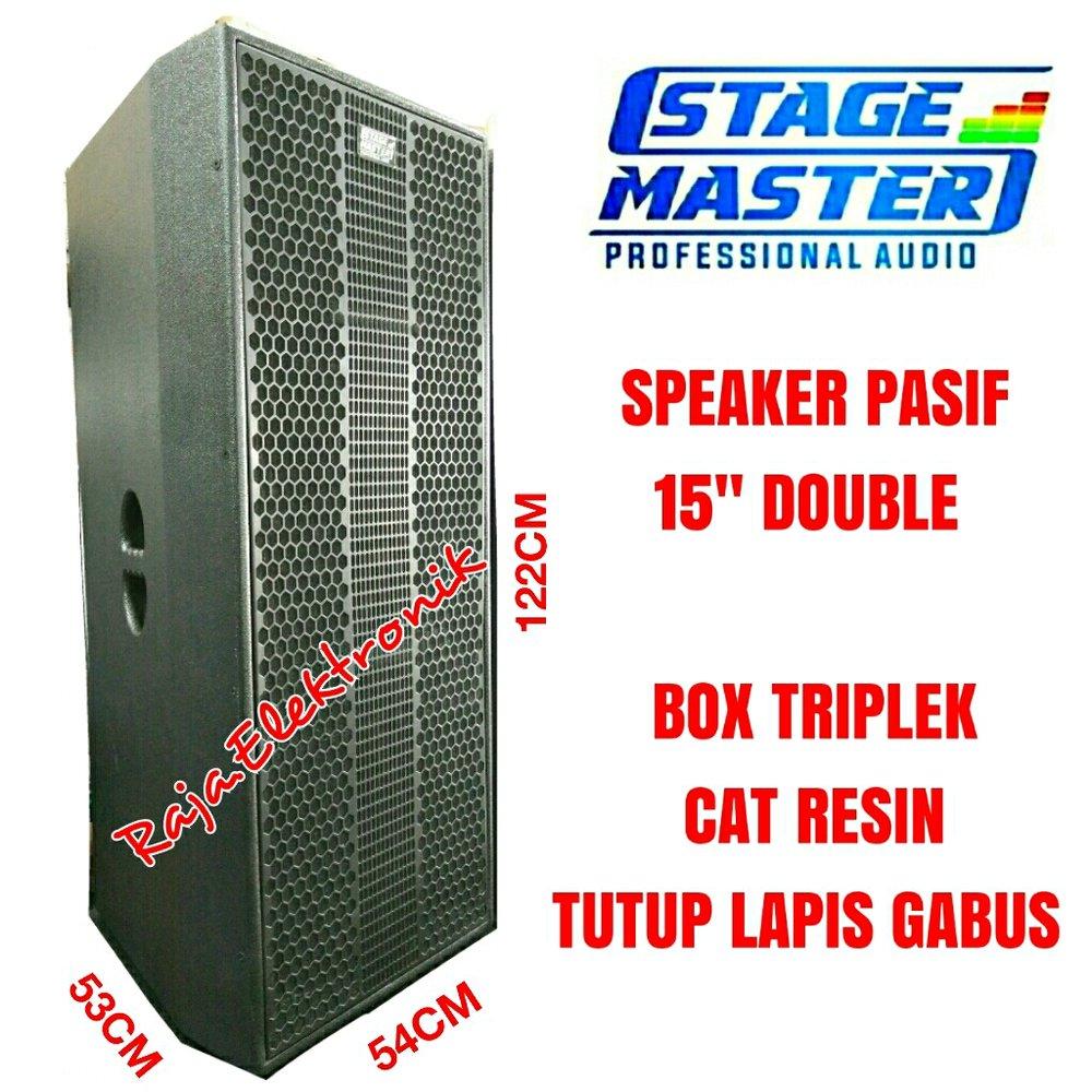 Harga Box Speaker 15 Double Katalog.or.id