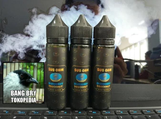 Harga sale hero57 sub ohm blueberry doughnut gold batch premium liquid | DEMO GRABTAG