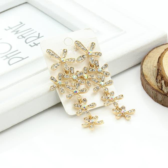 Harga hot sale anting snowflake berlian snowflake diamond earrings | DEMO GRABTAG