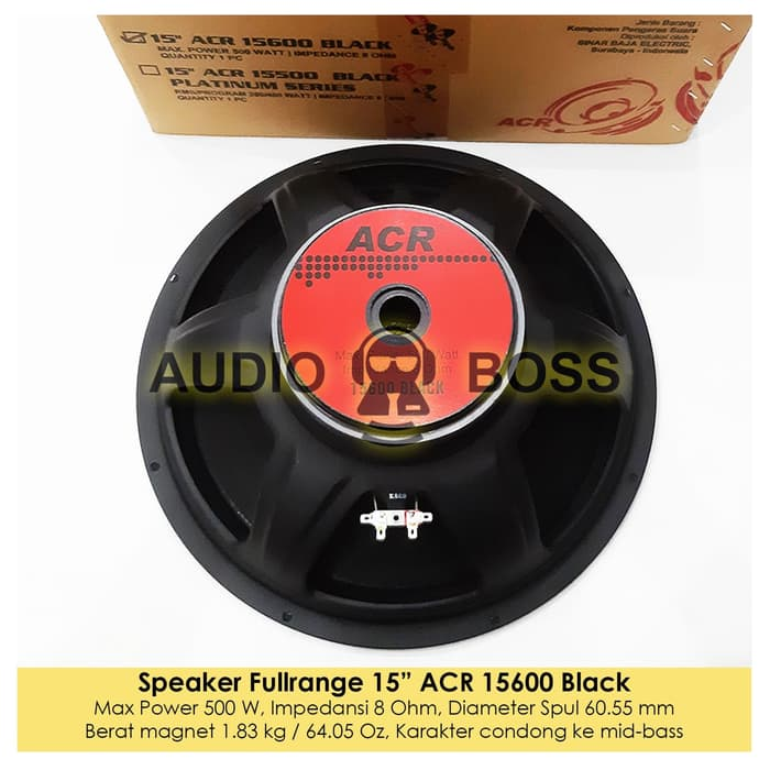 Harga Speaker Acr 15600 Black Katalog.or.id