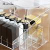 Marvilo Kotak Lipstik Akrilik 18 Sekat dengan Tutup Lipstick Organizer 3