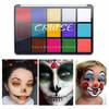 CRUISE Body Face Painting 15 Warna Halloween Makeup Oil Base Tatto Art thumbnail
