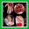 Tuffah Nail Henna Kuku Muslimah Pacar Kuku Halal Sah Untuk Sholat - Pink, 10 ml 1