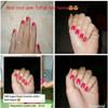 Tuffah Nail Henna Kuku Muslimah Pacar Kuku Halal Sah Untuk Sholat - Pink, 10 ml 5
