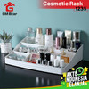GM Bear Rak Kosmetik Mini Makeup Organizer Storage Box-Cosmetic - Merah Muda 2
