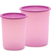 Tupperware Small Mosaic Canister