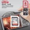 SanDisk Ultra 8GB Class 10 SDHC 40mb/s