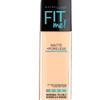 Maybelline Fit Me Matte + Poreless Foundation - 128 Warm Nude - 30 mL