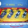 1:32 Rally Collezione (4Pcs)