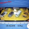 1:32 Street Tuners Collezione (4Pcs)