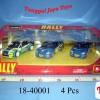 1:32 Rally Collezione (3Pcs)