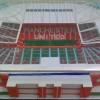 Miniatur stadion sepakbola