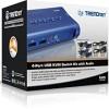 TRENDnet 4-PORT USB KVM Swicth With Audio