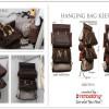 Hanging Bag Keeper (HBK) D'Renbellony - Brown