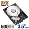 """Seagate 3.5"""" HardDiskDrive 500GB-SATA3-Internal Kit"""