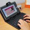 Keyboard Leather Case Black.With Usb