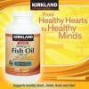 Kirkland Fish Oil Omega 3 Menyehatkan Jantung, Pembuluh Darah, Sendi-S