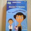 """Buku Teenlit """"What My Mother Doesn't Know"""" edisi dwi bahasa (kondisi 99%)"""