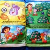 Dora's Camping Adventure Pillow Story Book