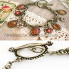 flower drop bracelet