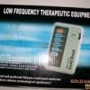 Alat Terapi Pijat Dengan Low Frequency / Alat Accupuntur Gold Hand