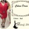 CODE : Coleen Dress Red