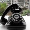 Barang Unik - Black Antique Phone