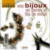 Ebook Bijoux en perles et fils de metal