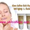 Nano Active Gold Mask Gel Anti Aging & Radiance - Memutihkan + Mencerahkan Wajah, Anti Aging, PenghiLang FLek & Komedo