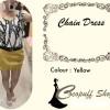 CODE : Chain Dress Yellow