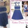 CODE : Kitten Dress (IMPORT)