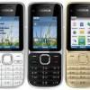 Nokia C2-01; HP 3G Terbaru 2011 Dengan Kamera 3.2 MP.  Sekarang Ada Warna White.