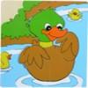 WT-2201 Square Picture Puzzle - Duck