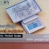 Timbangan Digital Pocket Scale Camry, Kapasitas 200 Grams , Ketelitian 0,02 Gram