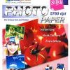 Stardust Paper (BP-SPA4260) - A4, 20 Sheet, 260 gsm, Microporous, Matte, Water Resistant