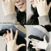Bright smile open ring (usually in the 14) (with Rose Gold)