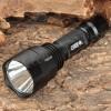 Senter Flashlight C8 CREE XRE Q5 LED terang dan sorotan jauh , big smooth reflector , good spill light sama persis dgn ULTRAFIRE