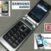 Samsung Citrus-FLIP GT-C 3520 + BONUS LCD Protector, Hard Cover & MC 4GB