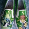 Sepatu Lukis Hero