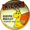 KICOO - Keripik Bekicot - Renyah, Gurih, Kaya Protein