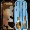 Cutlery Set - Perlengkapan Makan Karakter Mickey Mouse