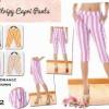 Stripy Capri Pants