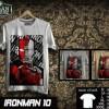Tshirt IRONMAN Disain IRONMAN 10