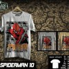 Kaos SPIDERMAN Disain SPIDERMAN 10