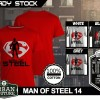 Kaos MAN OF STEEL  Disain MAN OF STEEL 14